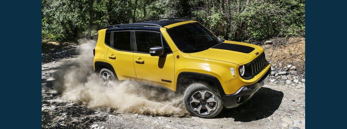 Brand New Jeep Renegade Falkirk Ian Grieve Jeep