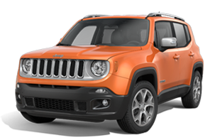 New Jeep Renegade In Falkirk